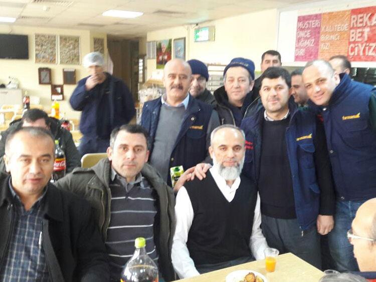 Üyelerimizden Farmamak AŞ çalışanı Selami Fidan ağabeyimiz emekli oldu.